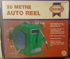 Faithfull 20m Auto Reel