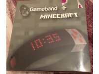 Gameband and minecraft brand new sealed