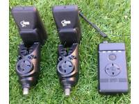 Nash S5R Bite Alarms with Receiver