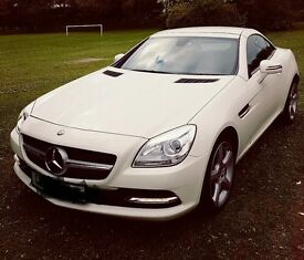 Mercedes SLK 250 blue effiency