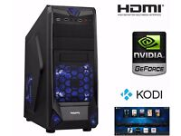 Customized i5 Gaming PC with Nvidia GTX Gaming Card, Fast SSD Drive - HDMI HD