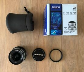 Olympus M.ZUIKO DIGITAL ED 12 mm 1:2.0 Lens