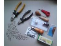 QUALITY SELECTION OF LEATHER TOOLS