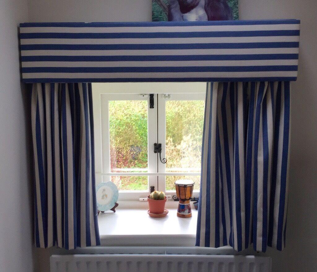 Luxury handmade curtains with pelmet, and closing mechanism
