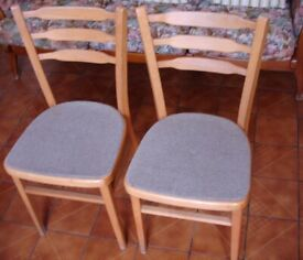 Two lightweight chairs