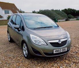 2010 Vauxhall Meriva Exclusiv 1.4