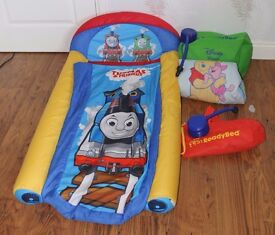 Thomas the Tank Engine My First bed in a Bag £10 Also have Winnie Pooh My First Bed in a Bag £10