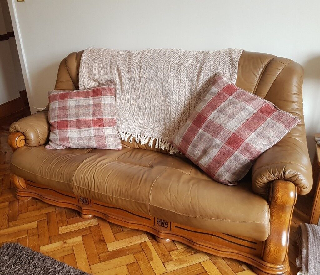 3 seater sofa and 2 arm chairs | in Ballymena, County ...