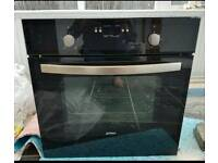 Built in Prima electric fan oven and electric 4 hobb