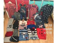 12-18 months baby boys clothes bundle