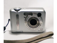 Casio QV R61 6.0MP Digital Camera - Silver
