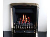 Valor Dream Fireslide 3.5 Kw Inset Gas Fire (Pale Gold)
