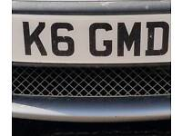 Private plate for sale K6 GMD #bmw audi ford vauxhall volkswagen seat Mercedes jaguar#
