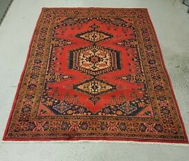 Authentic hand made Persian Vis Rug Carpet
