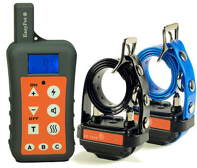 For TWO DOG Easypet 1200m Waterproof Rechargeable Remote Training Collar Trainer