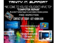 pc repair / computer repairs / IT Support Residential & Business premises