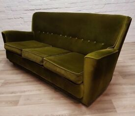 Mid-Century Sofa (DELIVERY AVAILABLE FOR THIS ITEM OF FURNITURE)