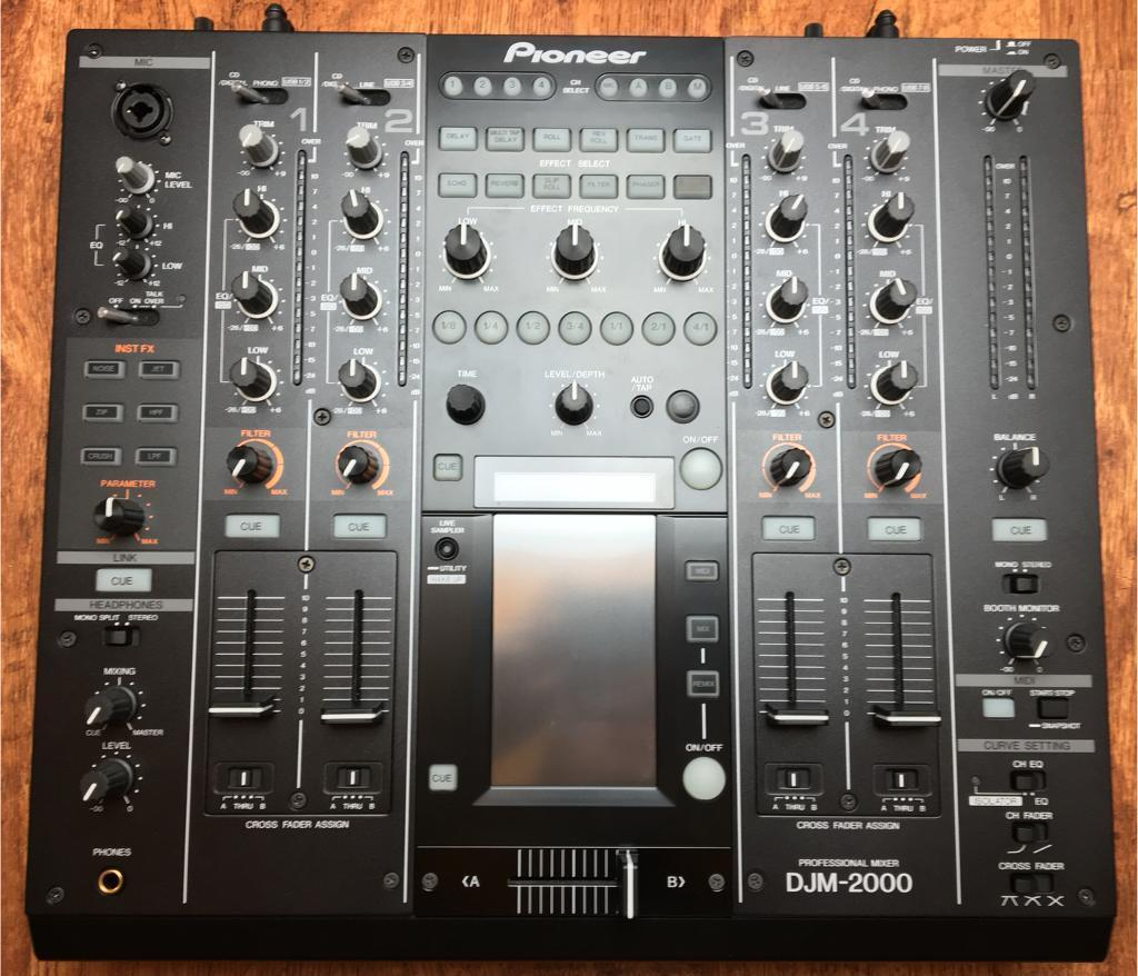 Pioneer DJM 2000 Mint Out of Box Condition