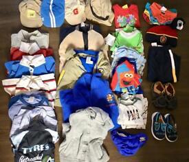 Boys clothes bundle age 12-18 months 1-2 years Gymboree, Gap, Next