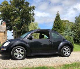 VW Beetle, Metallic black , 1.6l, petrol , manual. Immaculate condition
