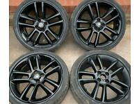 Vauxhall Corsa SRI 17 inch Black Edition Alloy Wheels 4 x 100 Genuine 7J ET44 D