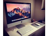 Apple iMac 21.5-inch - Mint Condition - Intel Core i5 2.7ghz, 8GB RAM with 1TB HDD - Late 2012