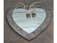 Heart Shaped Steampunk Mirror