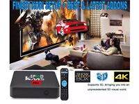 LATEST 2017 SPEED KM5 PRO ANDROID TV BOX