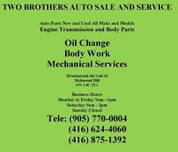 TWO BROTHERS AUTO SALE AND SERVISE