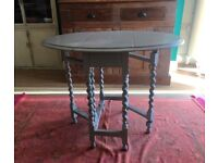Shabby Chic Painted Vintage Table and Chairs