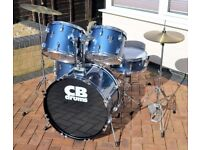 COMPLETE DRUM KIT - INCLUDES CYMBALS & ALL EQUIPMENT