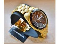 Brand new gold Emporio Armani watch