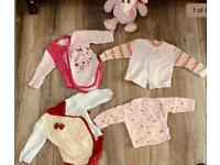 Newborn up to 3M baby girl bundle in perfect condition