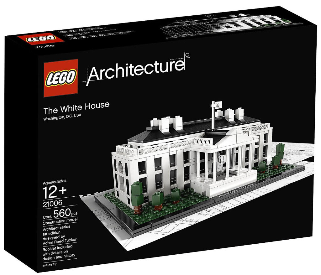BRAND NEW Lego Architecture 21006 The White House!!