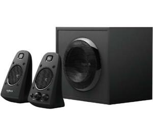 Logitech Z623 Speaker System with Subwoofer - Captivating THX Sound - Powerful 2.1 System - 200-Watt RMS - 400-Watt Peak