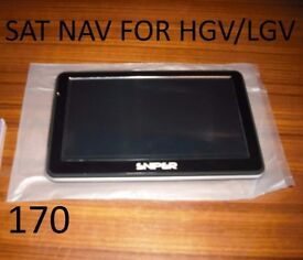 Sat nav for any lorry or car.