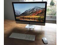 "iMac 27"" 2.25TB Fusion Drive 3.4ghz Core i7 32GB RAM"