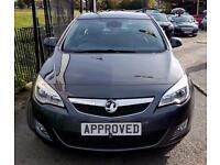 VAUXHALL ASTRA 2.0 ELITE CDTI 5d AUTO 163 BHP Apply for finance O (grey) 2014