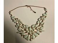 ALDO necklace - turquoise