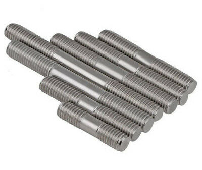 M6 M8 316 Stainless steel double end threaded rod bolt stud screw 8 Stainless Steel Threaded Rod