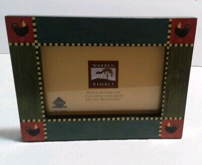 Warren Kimble Picture - WARREN KIMBLE PICTURE FRAME COUNTRY COLLECTIBLE Farmhouse decor