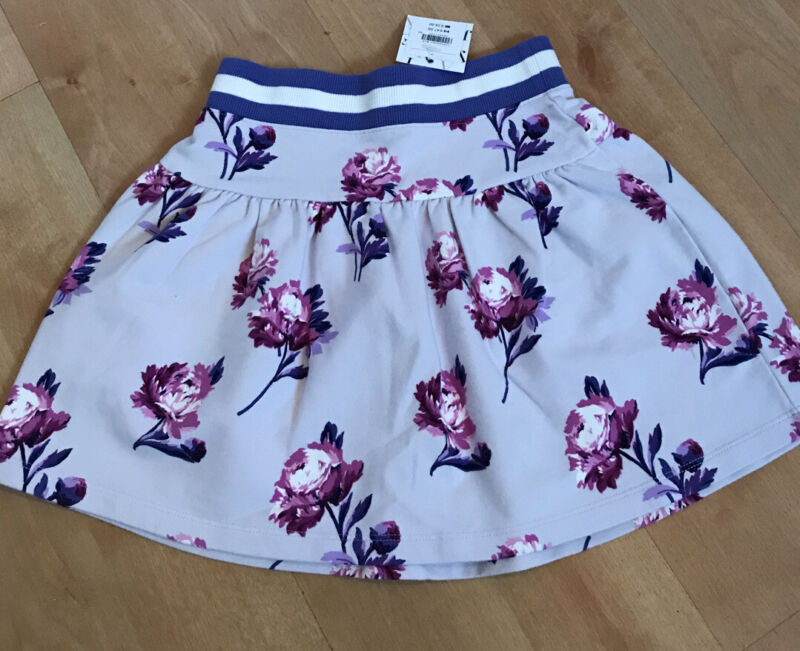 Janie And Jack Floral Striped Skirt NWT Size 7