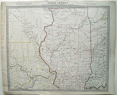 Missouri Illinois Indiana Springfield Michigan Peoria St. Louis Chicago Shawnee