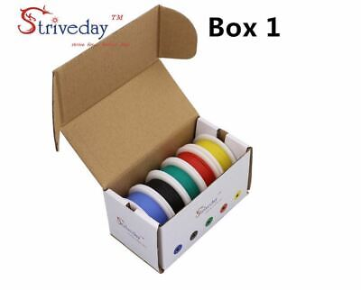 Electrical Wire Cable Set 282624222018 Awg 5 Colors Mix Stranded Wire Kit
