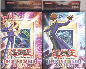 Yu-Gi-Oh!!!  Starter Deck Yugi and Kaiba Portuguese SDY SDK [2 Decks]