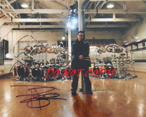 TERRY BOZZIO - DRUMS  AUTOGRAPHED PICTURE SIGNED 8X10 PHOTO REPRINT