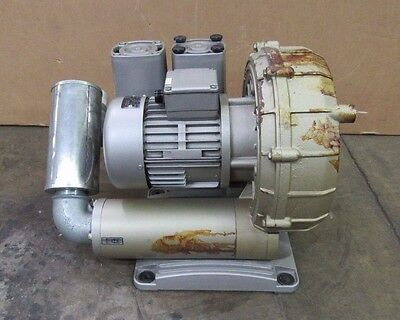 Becker Sv 7.1902-01 Vsf Regenerative Vacuum Pump Blower 230400v 1.5kw 3ph