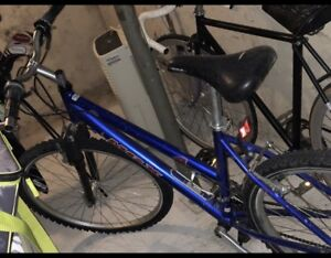 Blue MGX 7 speed Mountain Bike