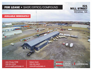 321 Mill Street - Large Warehouse For Lease on 3.5 Acre Site!