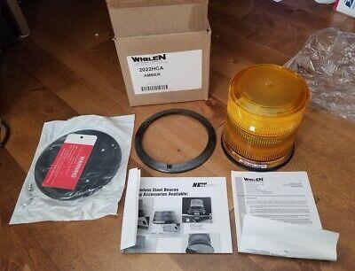 Whelen 2022 Series Amber Strobe Beacon 12v24vdc New In Box 2022hca